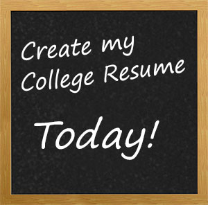 How to Build a College Admission Resume
